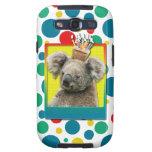 Magdalena del cumpleaños - koala galaxy s3 protectores