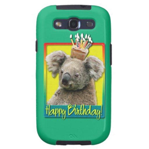 Magdalena del cumpleaños - koala galaxy s3 carcasa