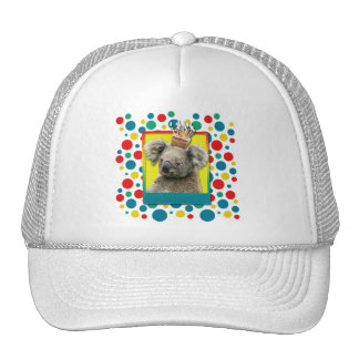 Magdalena del cumpleaños - koala gorras