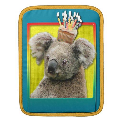 Magdalena del cumpleaños - koala mangas de iPad