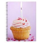 Magdalena del cumpleaños libro de apuntes con espiral