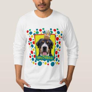 Magdalena del cumpleaños - mayor perro suizo de la remera
