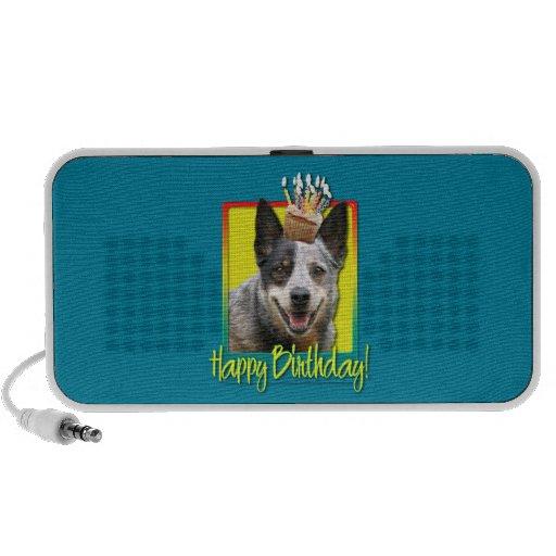 Magdalena del cumpleaños - perro australiano del g PC altavoces