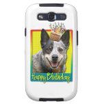 Magdalena del cumpleaños - perro australiano del g samsung galaxy s3 coberturas