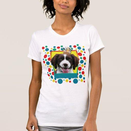 Magdalena del cumpleaños - perro de aguas de camisetas