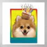 Magdalena del cumpleaños - Pomeranian Impresiones