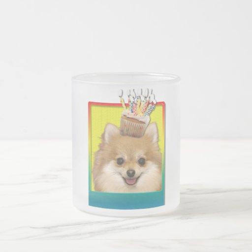 Magdalena del cumpleaños - Pomeranian Tazas De Café