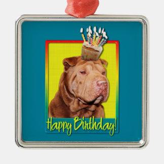 Magdalena del cumpleaños - Shar Pei - afortunada Adorno