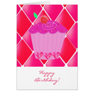 Magdalena del cumpleaños tarjeta de felicitación