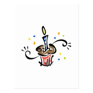 Magdalena del cumpleaños postal