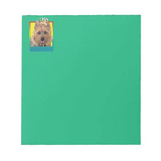 Magdalena del cumpleaños - Terrier australiano Blocs