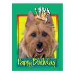 Magdalena del cumpleaños - Terrier australiano Postal