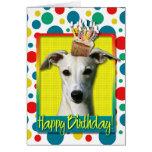Magdalena del cumpleaños - Whippet Felicitación