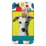 Magdalena del cumpleaños - Whippet iPhone 4 Cárcasa