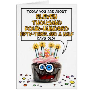 Magdalena del feliz cumpleaños - 31 años tarjeta de felicitación