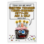 Magdalena del feliz cumpleaños - 50 años tarjeta de felicitación