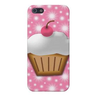 Magdalena del recorte con la cereza rosada en el iPhone 5 carcasas