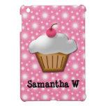 Magdalena del recorte con la cereza rosada en el t iPad mini carcasas