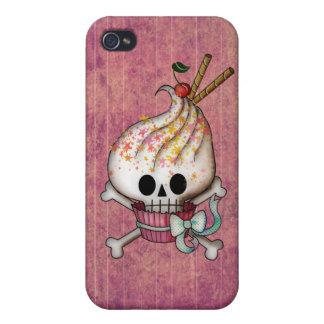 Magdalena dulce del cráneo iPhone 4/4S fundas