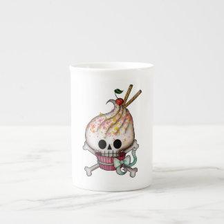 Magdalena dulce del cráneo taza de porcelana
