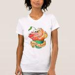 Magdalena dulce y mortal del cráneo camiseta