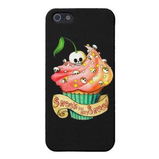 Magdalena dulce y mortal del cráneo iPhone 5 carcasa