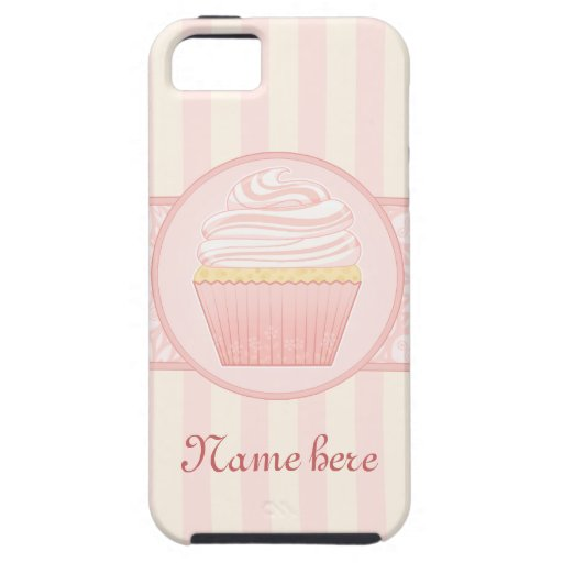 Magdalena elegante rosada dulce iPhone 5 Case-Mate fundas