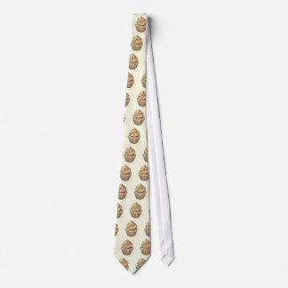 Magdalena en la crema corbata personalizada