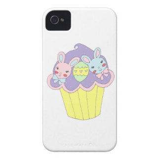 Magdalena linda de los conejitos de pascua Case-Mate iPhone 4 protectores