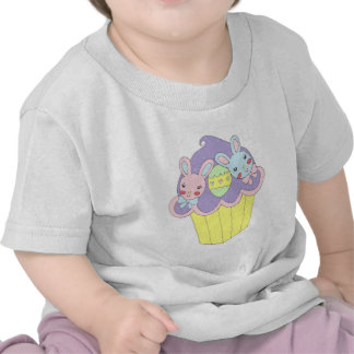 Magdalena linda de los conejitos de pascua camisetas