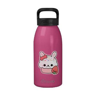 Magdalena linda del conejito botella de agua