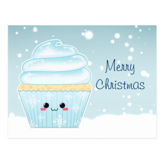 Magdalena linda del copo de nieve del navidad de tarjetas postales