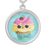 Magdalena linda del gatito collar personalizado