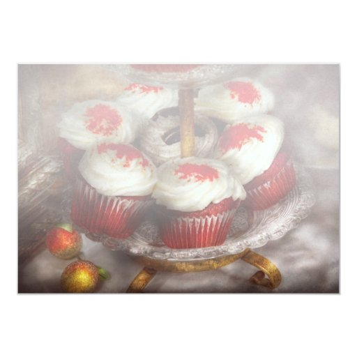 - Magdalena - magdalenas rojas dulces del Invitaciones Personalizada