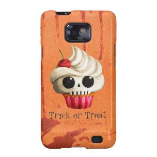 Magdalena mortal del cráneo de Halloween Samsung Galaxy S2 Fundas