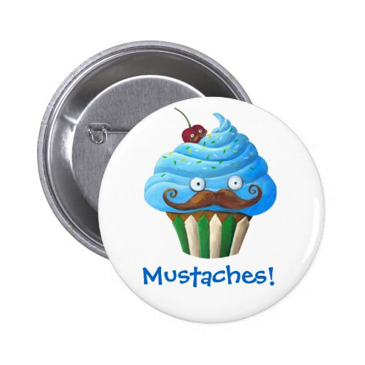 Magdalena Mustached dulce Pins