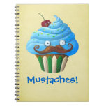 Magdalena Mustached dulce Spiral Notebooks