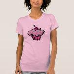 magdalena punky rosada de la bandera pirata del cr camiseta