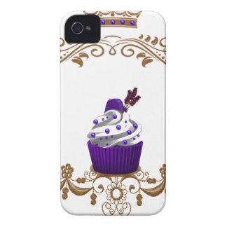 Magdalena púrpura real iPhone 4 Case-Mate cobertura