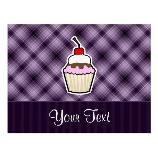 Magdalena púrpura tarjeta postal
