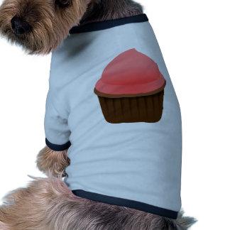 Magdalena rosada camiseta con mangas para perro