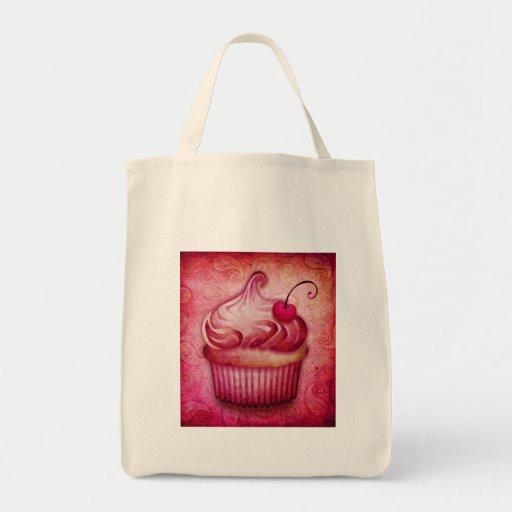 magdalena rosada de Paisley Bolsa Tela Para La Compra