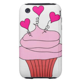 Magdalena rosada deliciosa iPhone 3 tough protectores