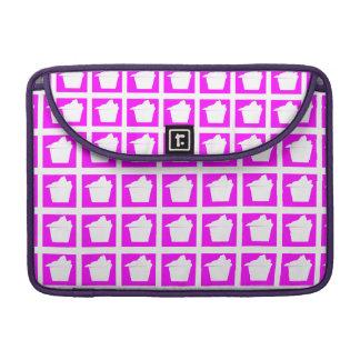 Magdalena rosada linda deliciosa funda para macbooks