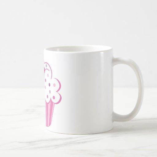 Magdalena rosada taza de café