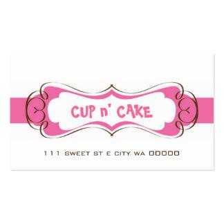 Magdalena, torta, tarjeta de visita de la panaderí