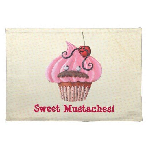 Magdalena y bigotes dulces manteles individuales