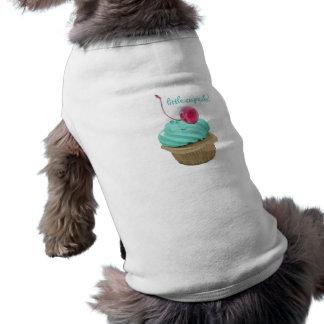 Magdalena y cereza camisetas mascota