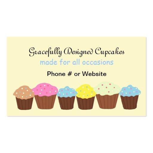 Magdalenas agraciado diseñadas tarjetas de visita