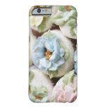 magdalenas con la formación de hielo de la flor funda para iPhone 6 barely there